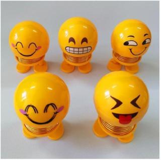 CMOBO 6 Thú Nhún Emoji con lắc lò xo con nhún 4
