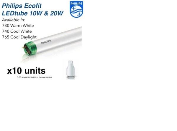 bóng đèn led tube philips ecofit ho