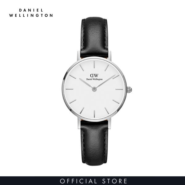 Đồng hồ Nữ Daniel Wellington dây da - Petite Sheffield 28mm DW00100242