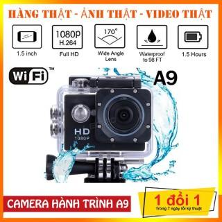 [ SIÊU KHUYẾN MÃI ] Camera hành trình 4K 2.0 FULL HD 1080P Cam A9, Camera hành trình chống nước, chống bụi, chống rung, Lấy Nét Tự Động, Camera hành trình xe máy phượt, Chế độ cân bằng sáng tự động (WDR) có thể QUAY RÕ NÉT TRONG ĐÊM thumbnail