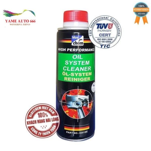 { CHÍNH HÃNG } Dung dịch súc rửa  động cơ BLUECHEM Oil System Cleaner 250ml YAME AUTO 666