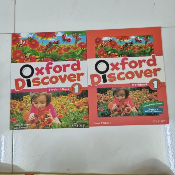 Oxford Discover 1 ( Sb & Wb) kèm đầy đủ tài liệu cho bé