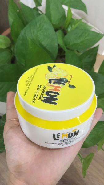 Kem Body Chanh Tươi Lemon, kem dưỡng da toàn thân cao cấp