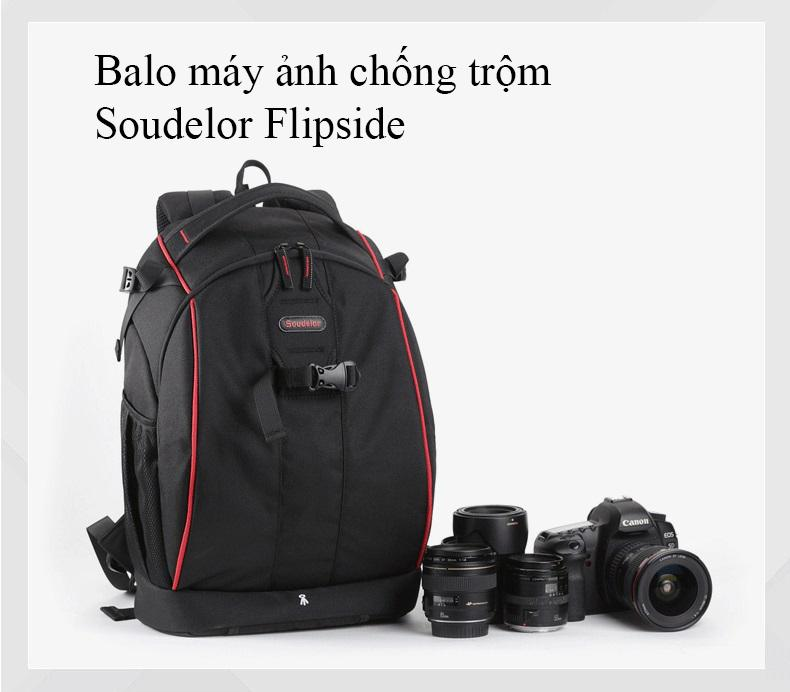 Hình ảnh Balo Máy Ảnh Soudelor Flipside 400