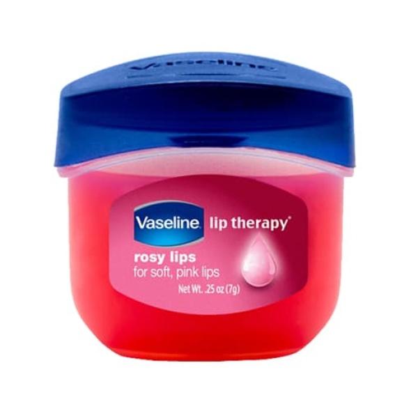 Sáp Dưỡng Ẩm Vaseline  Môi Hồng Xinh Với Vaseline Lip Therapy Rosy Lip  Môi Mềm Mại Với Lip Therapy Original Sáp Chống Nẻ Dạng Hũ, Dưỡng Ẩm Đa Năng 7g cao cấp