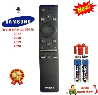 Điều khiển tivi Samsung giọng nói dùng chung các đời 2017,18,19,20 - Chính hãng Made in Việt Nam [ BH 3 tháng ] thumbnail