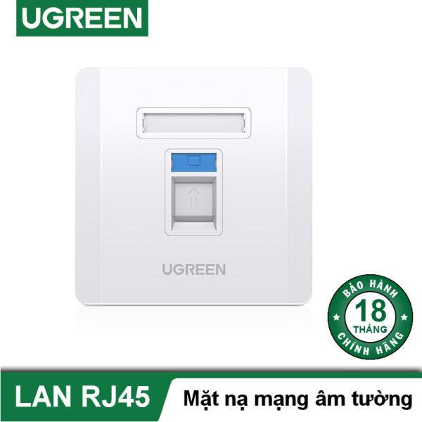 Bảng giá Mặt nạ mạng âm tường 1 cồng RJ45 UGREEN NW144 80180 Phong Vũ