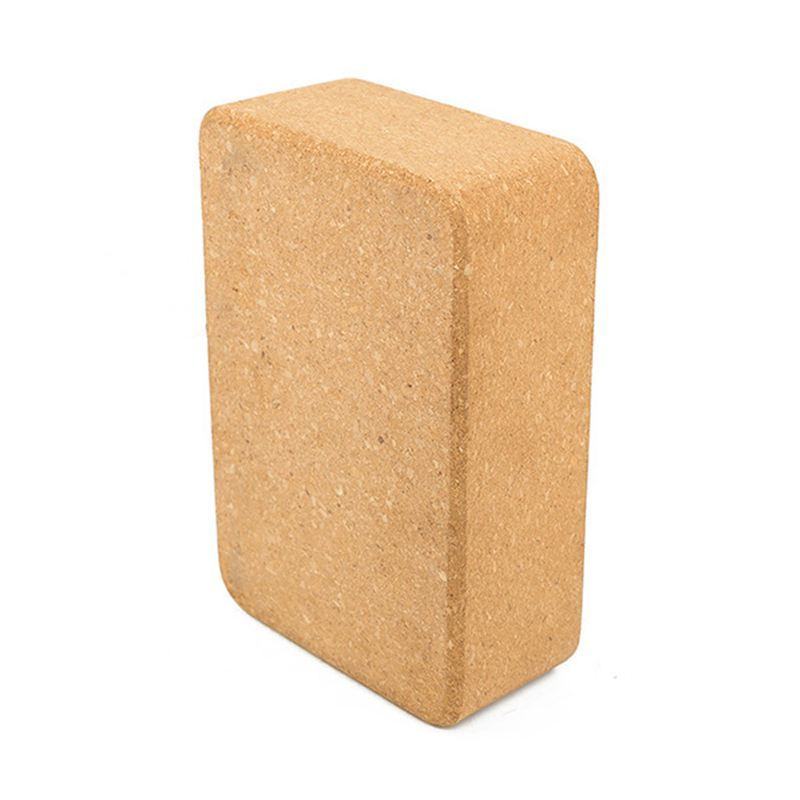 Bảng giá Cork Yoga Block Brick - Natural, Environmentally Friendly, Non-Poisonous - Best Yoga Props, Yoga Auxiliary Fitness Tools