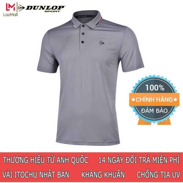 DUNLOP - Áo Tennis nam Dunlop - DATES9035-1C Hàng chính hãng Thương hiệu từ Anh Quốc Đổi trả miễn phí