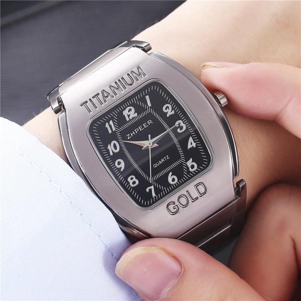 Nơi bán Đồng hồ nam Zpeer dây Titanium sang trọng ( Full hộp ảnh thật )