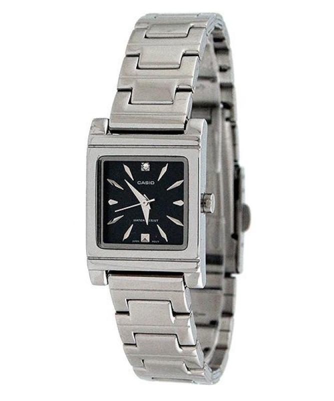Đồng hồ nữ dây thép không gỉ Casio Anh Khuê LTP-1237D-1A2DF