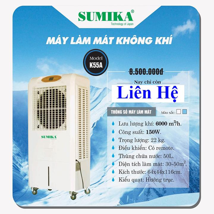 Bảng giá Máy làm mát hơi nước Sumika K55a - 5500m3/h