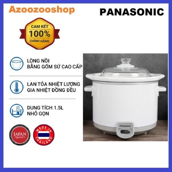 Nồi nấu chậm Panasonic PANT-NF-N15SRA (1,5 Lít) - Hàng chính hãng - Bảo hành 12 tháng