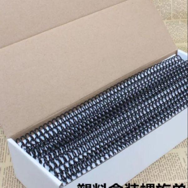 Lò Xo Đóng Gáy Nhựa Loại Xoắn Ốc Loại 46 Lỗ  Size A4