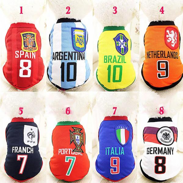Quần áo cho chó - Quần áo cho mèo - Áo Fan bóng đá