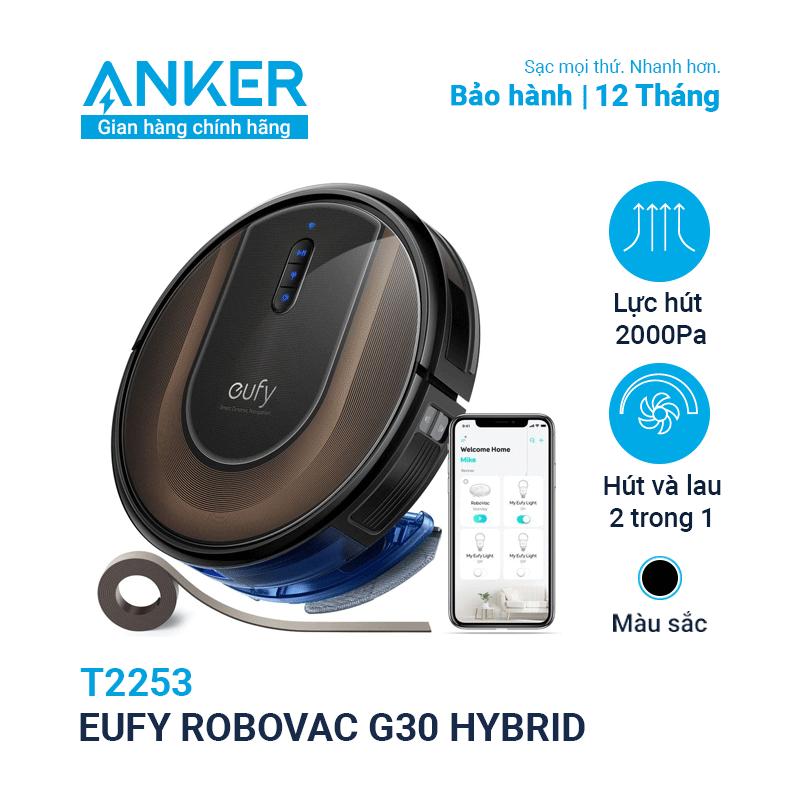 Máy Hút Bụi Eufy RoboVac G30 Hybrid (by Anker) - T2253