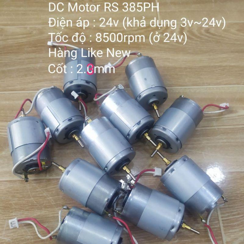 DC motor RS385PH 24v 10,500rpm Like New