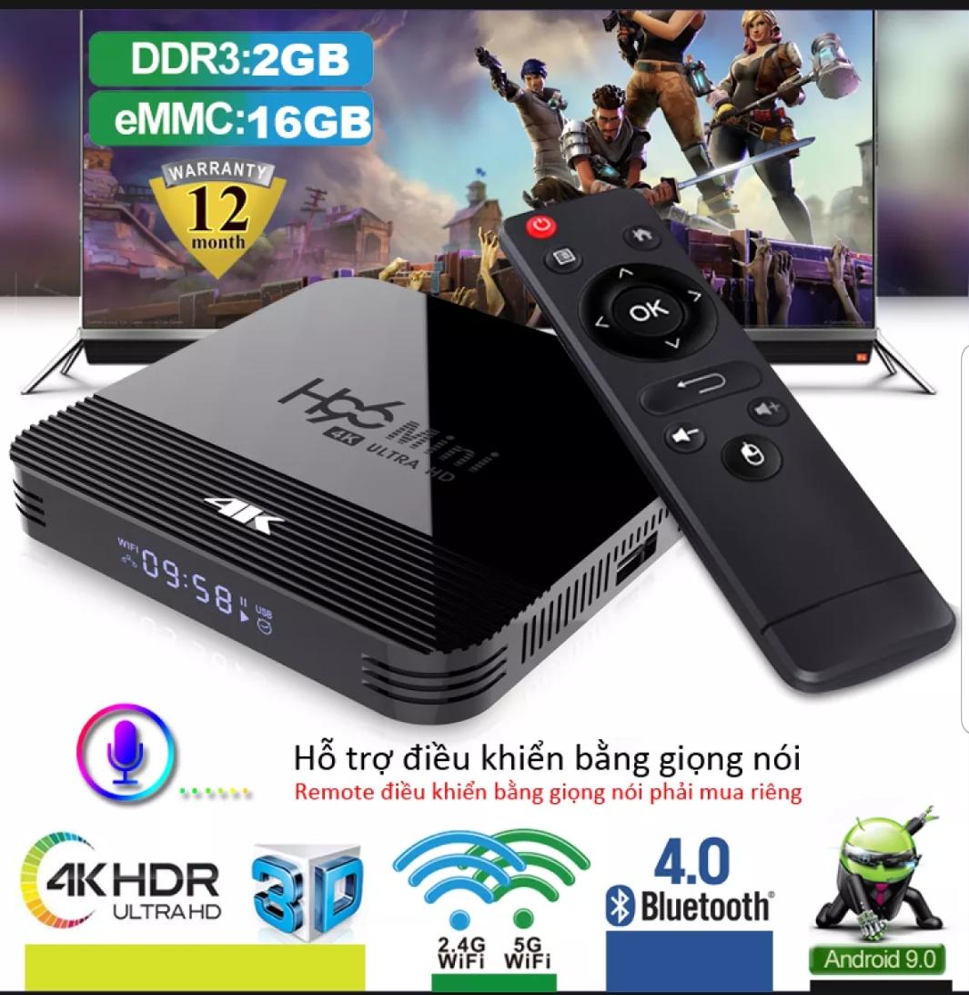 Android TV BOX, Phiên Bản Ram 2G ,Tích Hợp Chức Năng Tìm Kiếm Giọng Nói, Ứng Dụng Xem Phim Lẻ, Phim Bộ, Có Thể Tải Thêm Trên Play Store – Lưu Ý: Box Tối Ưu Trên HDMI H96mini Giá Ưu Đãi Nhất