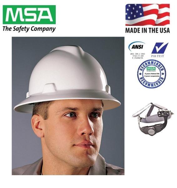 Nón bảo hộ MSA rộng vành - Mỹ