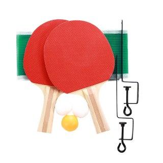 Wood Colour Ping-Pong Racket Ping Pong Bat Table Tennis Bat Durable Paddler Game Playground Portable Practical Sports Pingpong thumbnail