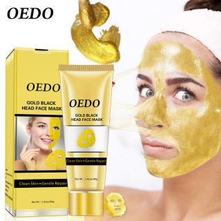 OEDO Mặt nạ lột mụn đầu đen có chứa tinh chất vàng 40g - INTL thumbnail