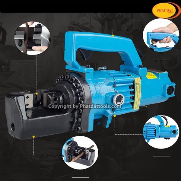 Máy cắt sắt thủy lực RC25 - Máy cắt sắt thủy lực - Thiết kế nhỏ gọn, không gây tiếng ồn