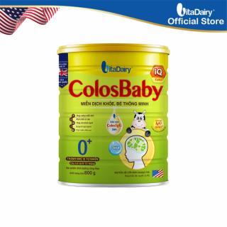 Sản phẩm dinh dưỡng Công Thức ColosBaby IQ 0+ 800g -S thumbnail