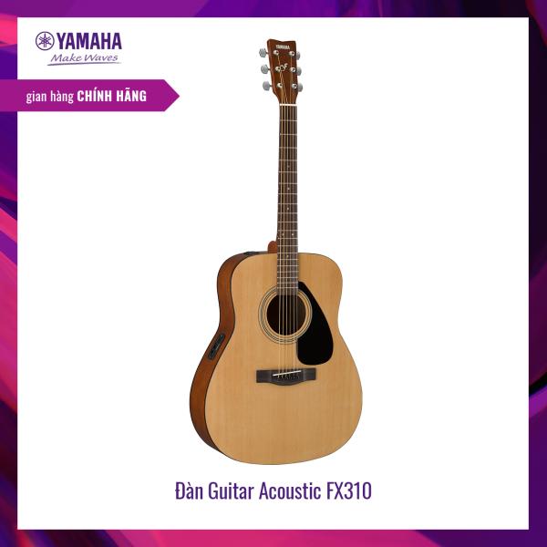 Đàn Guitar Acoustic Yamaha FX310AII - Tích hợp Pick up, truyền âm ra loa - Giai điệu tự nhiên, Traditional Western shape, Spruce Top, Back & Side Tonewood, Xuất xứ Indonesia - Bảo hành chính hãng 12 tháng