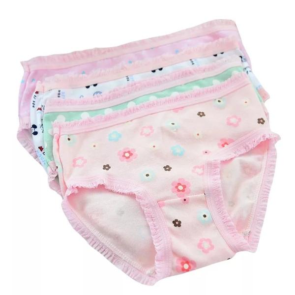 Giá bán Set 4 quần lót cotton họa tiết xinh xắn nhiều màu sắc cho bé gái 2-12 tuổi Bbshine - C003 co giãn tối đa, thấm hút tốt, mềm mại, tạo cảm giác thoải mái cho các bé