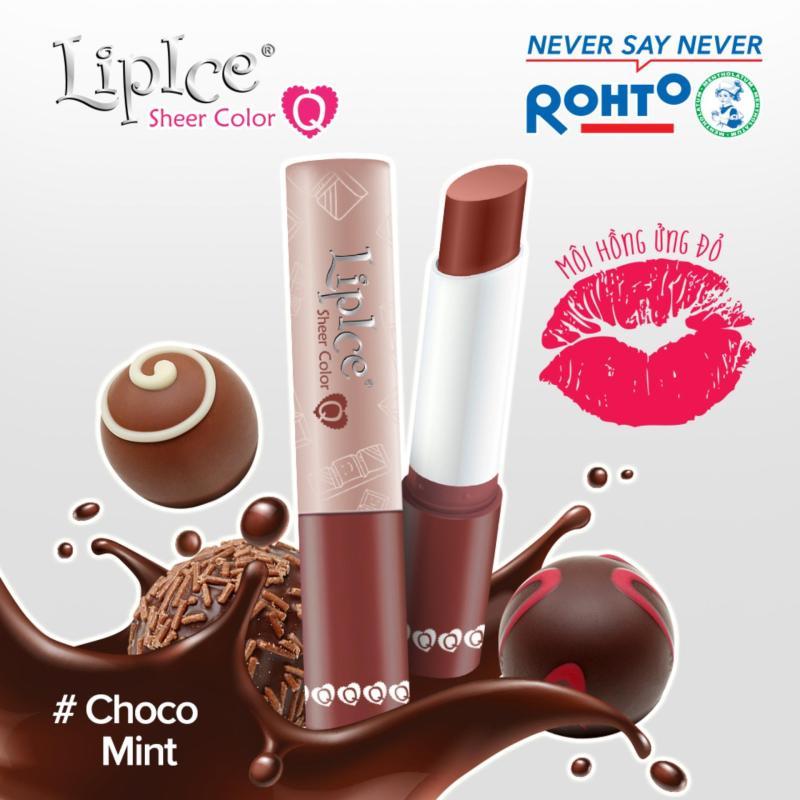 Son dưỡng Lipice Sheer Color Q Choco Mint 2.4g (Hồng tự nhiên) giá rẻ
