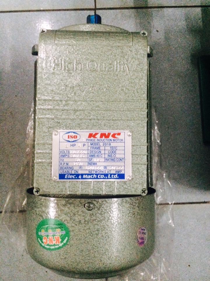 Động cơ điện 1 pha 220V - 3hp (2,2KW) 100% dây đồng / motor 2,2kw