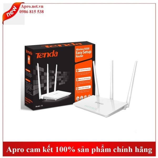Bảng giá BỘ PHÁT WIFI TENDA 3 RÂU F3 Phong Vũ