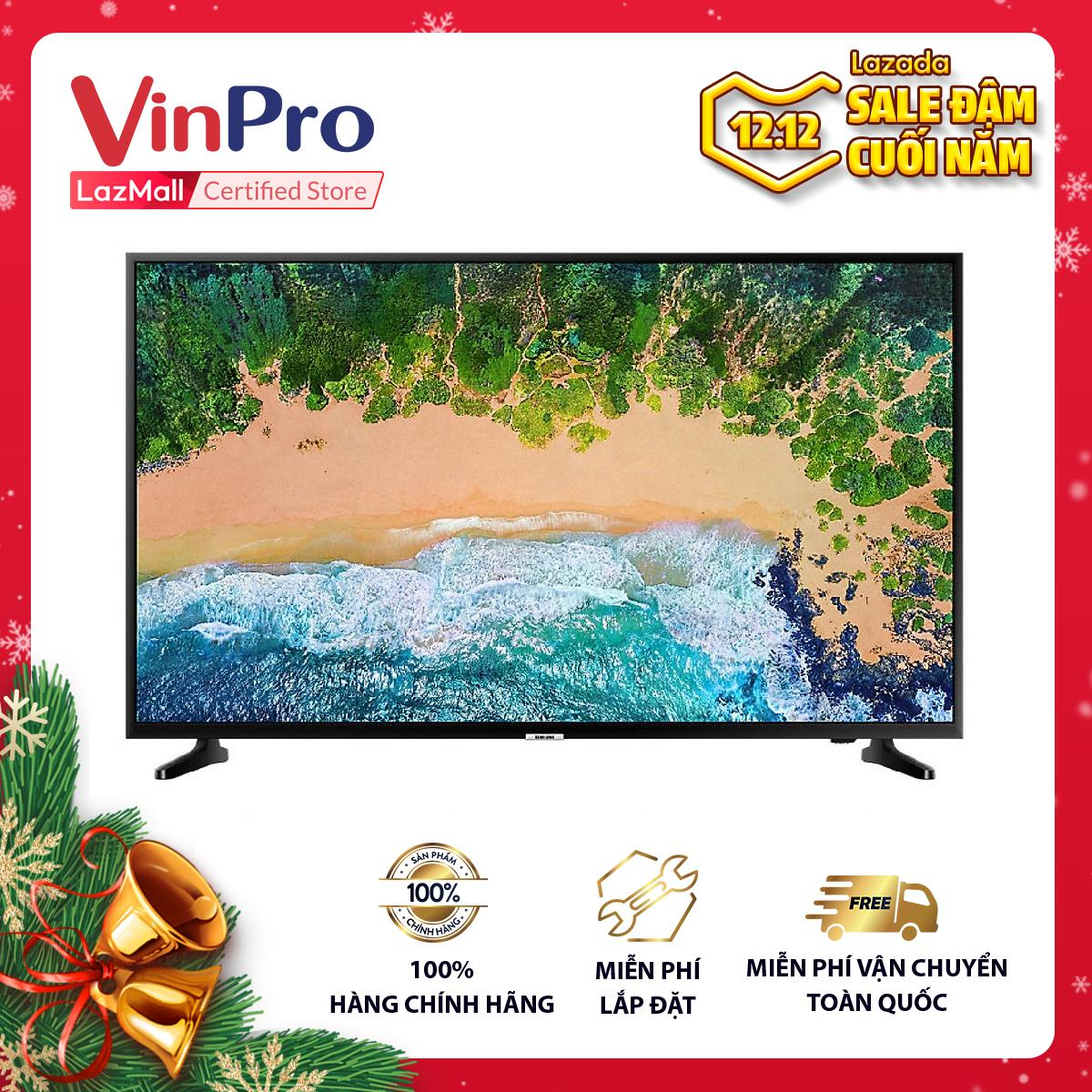 Smart Tivi Samsung 50 inch 4K UHD UA50NU7090KXXV - Hàng chính hãng - Viền siêu mỏng, Công nghệ nâng cao...