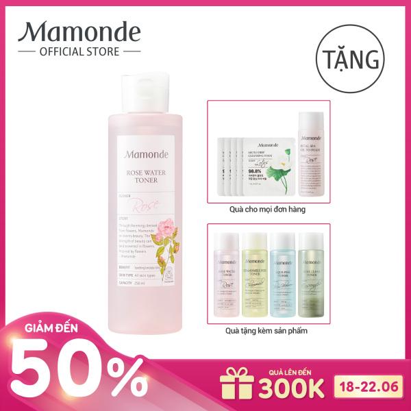 Nước hoa hồng cung cấp độ ẩm Mamonde Rose Water Toner 250ml tốt nhất