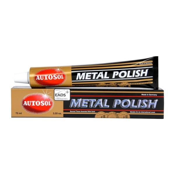 Tuýp lớn (100g) Autosol Metal Polish 75ml - đánh bóng kim loại, sơn inox, nhôm