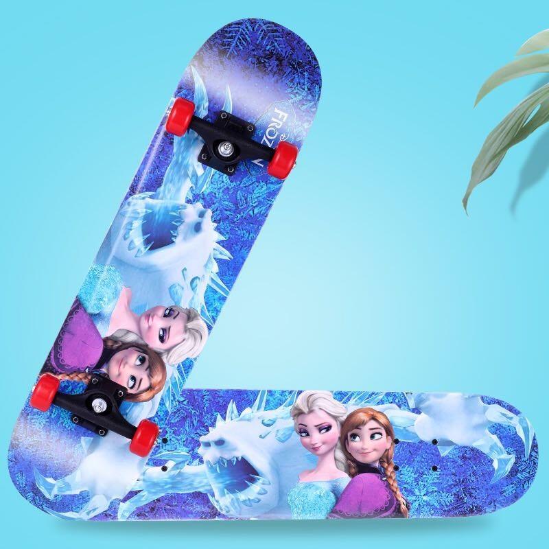 Giá bán Ván trượt Skateboard, VÁN TRƯỢT - VÁN TRƯỢT THỂ THAO - VÁN TRƯỢT 60x15x10 Ván trượt skateboard trẻ em họa tiết hoạt hình đáng yêu cho bé trai và bé gái - thiết kế đúng tiêu chuẩn thi đấu, an toàn chắc chắn độ bền cao, BH 12 Tháng