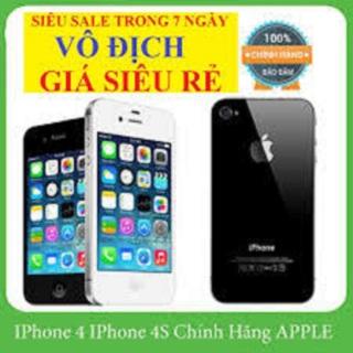 điện thoại iphone4 16g quốc tế full chức năng zalo-fb-youtube-Tiktok thumbnail