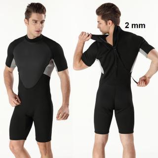 Bộ đồ lặn biển liền thân cộc tay nam dày 2mm, giữ ấm cơ thể, quần áo lặn biển nam, ngăn nước tiếp xúc với cơ thể hỗ trợ lặn biển MY092 POPO Collection thumbnail
