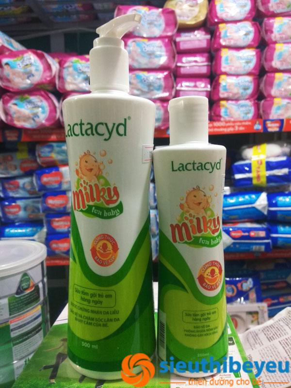 Voucher tại Lazada cho Sữa Tắm Lactacyd 500ml