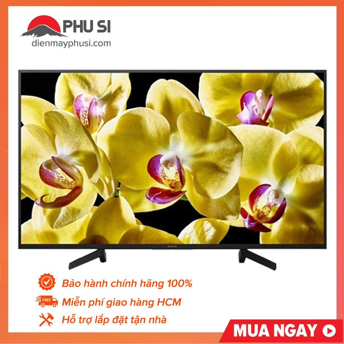 Bảng giá Android TV LED 4K UHD HDR Sony 55 inch KD-55X8000G (2019)