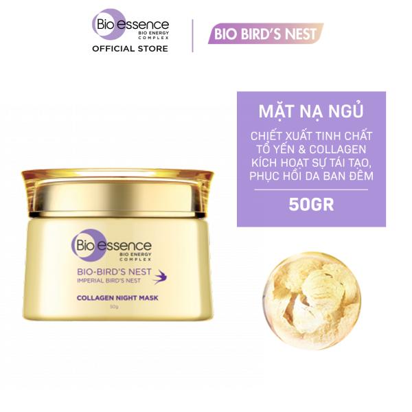 Mặt nạ ngủ dưỡng da Bio-essence Bio-Birds Nest Collagen Night Mask 50g