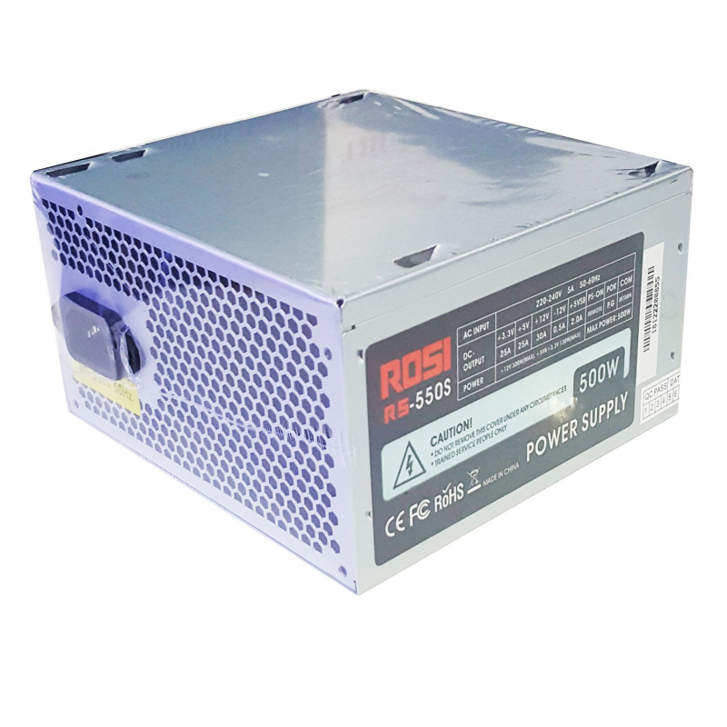 Bảng giá Nguồn máy tính Rosi RS-550S Phong Vũ