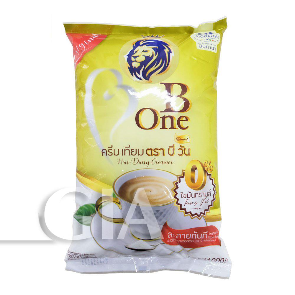 Bột kem béo B-One Thái Lan 1kg pha trà sữa - bột sữa béo, bột kem sữa, bột kem không sữa
