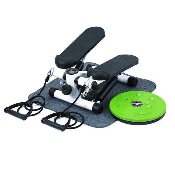 Máy chạy bộ mini Summer tại chỗ  có núm điều chỉnh nặng nhẹ+ (Tặng thảm lót và đĩa xoay eo)