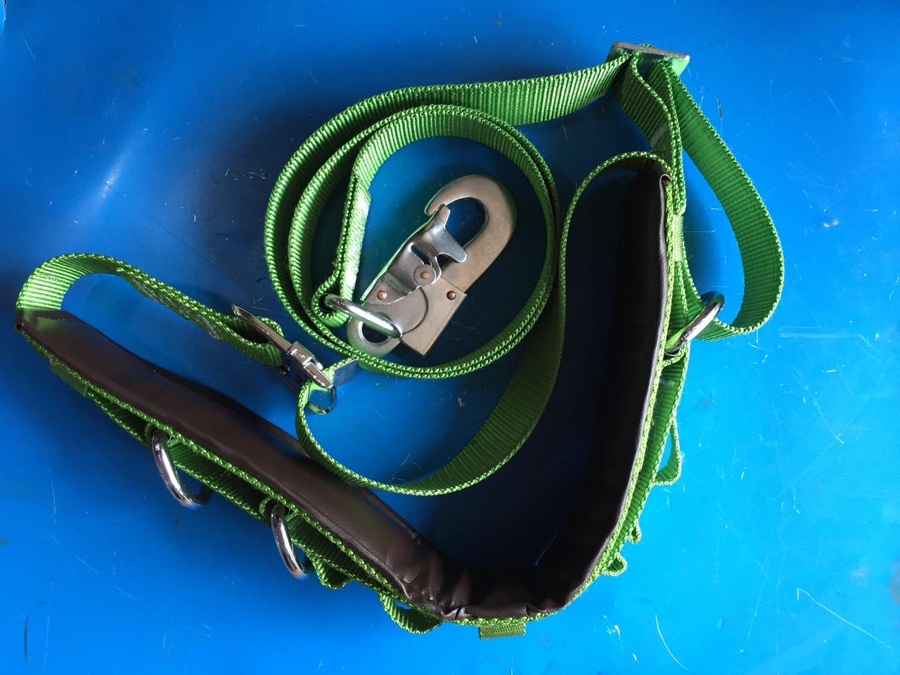 Dây an toàn lao động HAN-KO loại 1, dây an toàn trèo cột điện, dây bảo hiểm leo núi, dây bảo hiểm leo cây