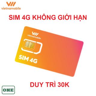 [HCM]Sim 4G vietnamobile không giới hạn data thumbnail