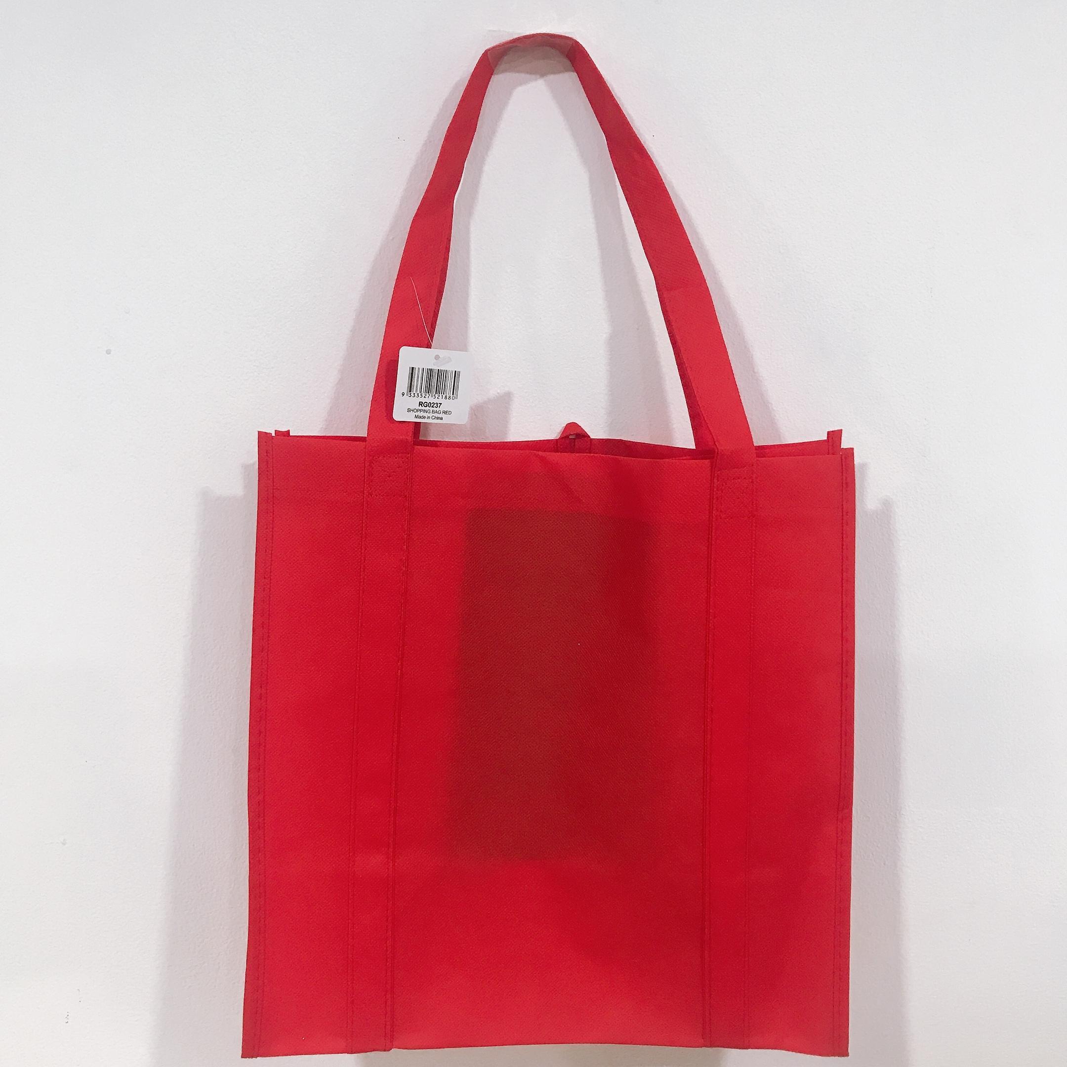 Túi mua sắm UBL RG0237 size 34.5 x 34 x 22 cm (Đỏ)