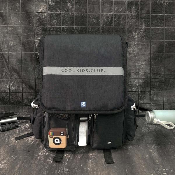 Balo thời trang chống nước cao cấp, phản quang BLCK Balo4.0