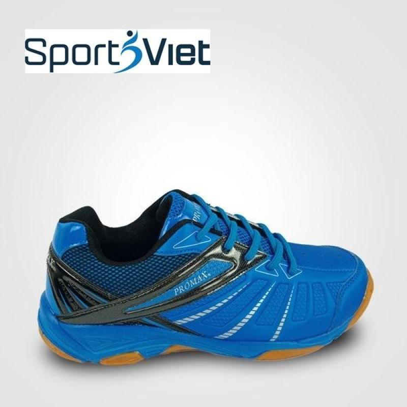 Giày thể thao Promax 19001 mầu xanh chuyên dụng cầu lông, bóng chuyền, bóng bàn