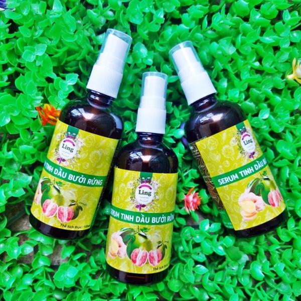 Tinh dầu bưởi rừng mọc tóc, hói, gàu Ling 100ml